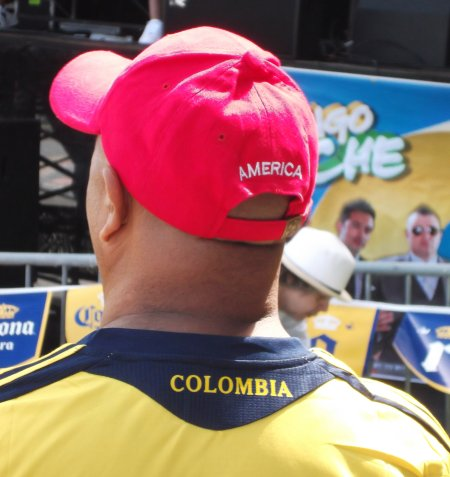 Man America Colombia Hat