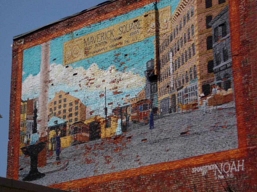 Tauson Mural Maverick Square NOAH
