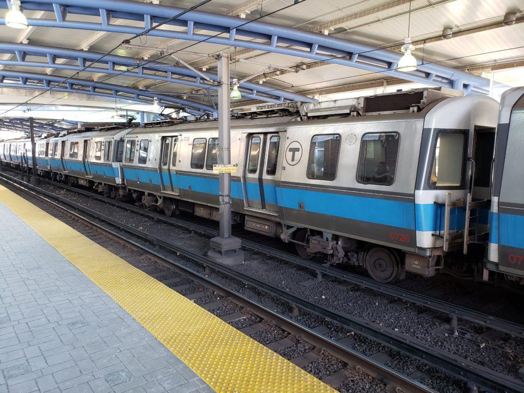 Blue Line Train East Boston