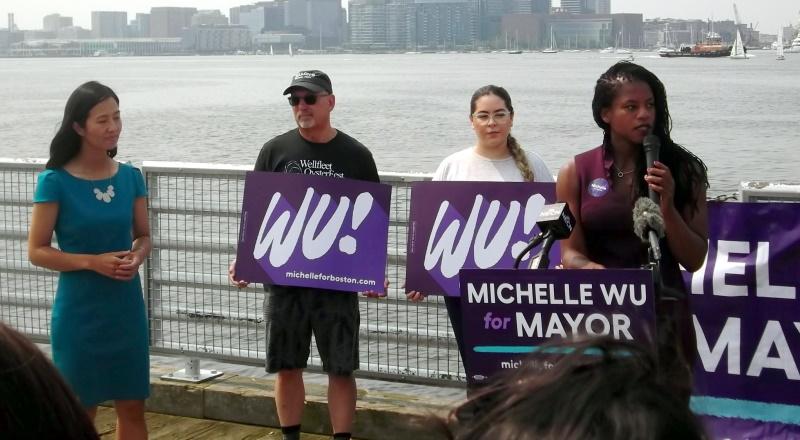 Edwards East Boston Endorses Michelle Wu Roslindale for MAYOR